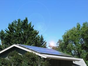 Solar Panels on Home jpg